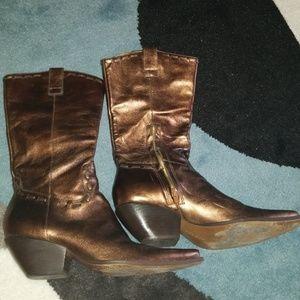 BCBG Girls Vintage Cowboy Boots